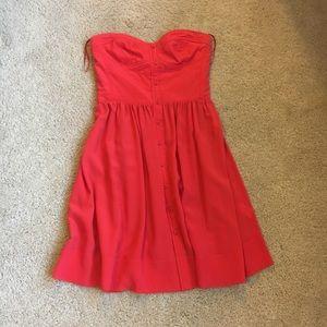 Orange Rebecca Taylor Dress